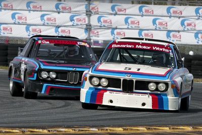 Video: Watching Two Bmw 3.0 Csl 'batmobiles' Go Head-to-head Is As Rare As It Gets!