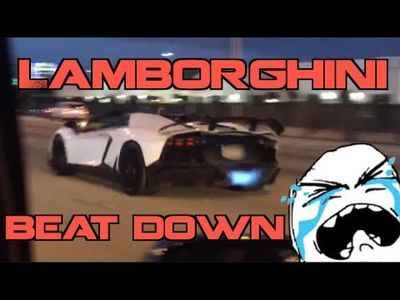 Video: Rich Guy In A Lamborghini Aventador Gets Murdered By A Monstrous Turbo Supra!