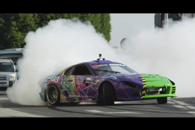 Video: The Russian Ken Block Destroys The Streets Of St. Petersburg With Thick Drift Marks And Plumes Of Smoke!