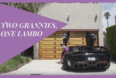 Video: Watch 2 Grannies Take A Badass Lamborghini Murcielago Out For The First Time!