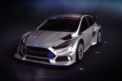 Ken Block Will Race A 600-hp Ford Focus Rs In Fia Rallycross Series.