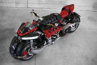 Yes, This Quad Bike Is Built Around A Maserati V8 Car Engine!