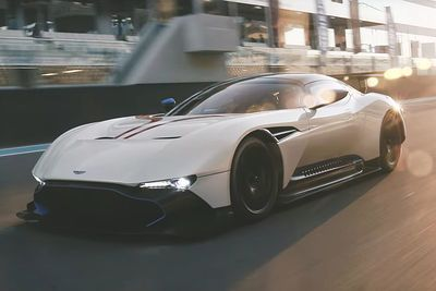 Video: Fire Spitting Aston Martin Vulcan Hits Yas Marina With The Top Gear Crew!