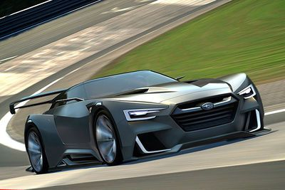 Subaru Is Working On A 300hp Mid-engine Coupe, Says Report.