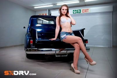 Natasha Michelle Barnard - 1948 Chevrolet 3100  - Exclusive Interview And Pictures