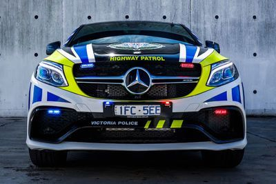 Australian Police Just Updated Their Fleet With A Mercedes-amg Gle 63 S.