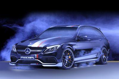 Piecha Design Transforms A  Mercedes-amg C63 Estate Into A Brutal Demon!.