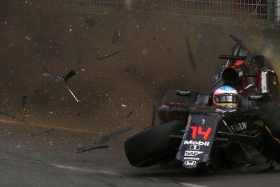 Video: Fernando Alonso Lucky To Be Alive After Insane Formula 1 Crash!