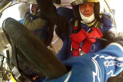 Video: Amazing Subaru Rally Jump Ends In Violent Barrel Roll!