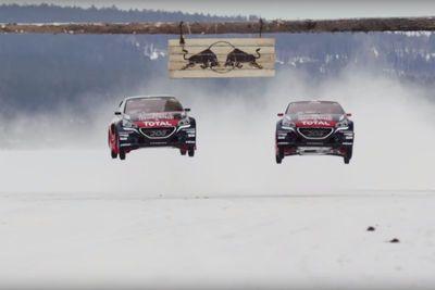 Video: Rallycross On Ice   Sebastien Loeb Takes On A New Racing Challenge.