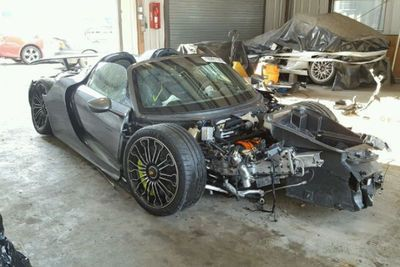 Porsche 918 Spyder On Auction For A Steal. It's Only Got One Tiny Problem Though...