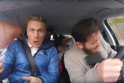 Video: Car Vloggers Get T-boned Hard While On A Roadtrip!