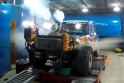Video: 1500hp Toyota Gets Pushed Too Hard On The Dyno And Blows Its Engine!