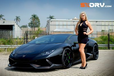 Laura Bishop - Lamborghini Huracan  - Exclusive Interview And Pictures