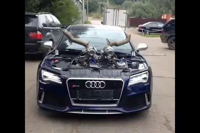 Video: Is This The Worlds Craziest Audi Rs7?!