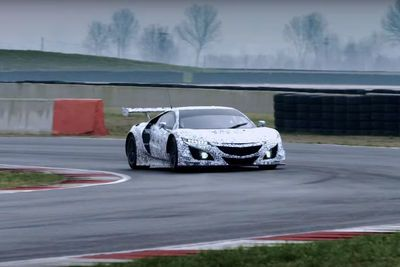 Video: The Acura Nsx Gt3 Revealed!