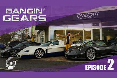 Video: Bangin' Gears - Maserati Mc12 & Koenigsegg Ccx & Pagani Zonda F - Episode 2