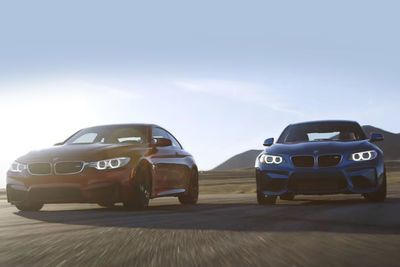 Video: Can The Bmw M2 Take Down The Mighty M4 On A Track?
