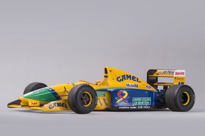 Video: You Can Buy This Benetton F1 Car Once Driven By Michael Schumacher
