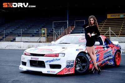 Natasha Catherine - Nissan Silvia S14 - Exclusive Interview And Pictures