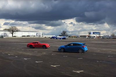 Video: Ford Focus Rs And Mustang Gt Doing And Epic Drift Dance
