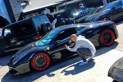Celebrity Ben Baller Upgrades His Ferrari 488 Gtb!