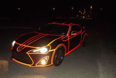 Video: How To Make Your Car Light Up Tron Style.