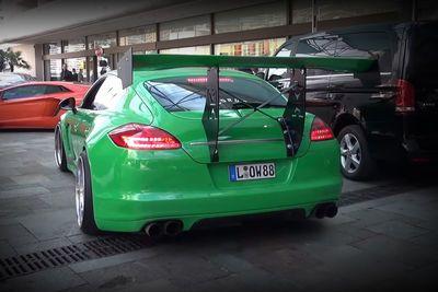 Video: The Craziest Porsche Panamera You'll Ever See!