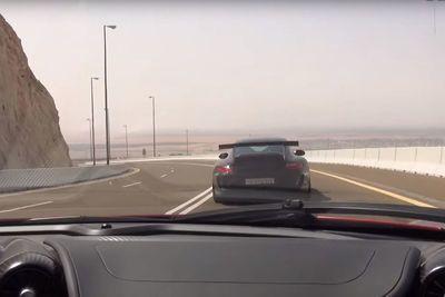 Video: Mclaren P1 Chases Porsche Gt3 Rs Through A Canyon Road