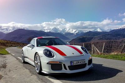 Video: Porsche 911 R Drivers Rip Through A Mountain With Some Help From A Helicopter