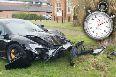 Guy Crashes Mclaren 650s Into A Tree Ten Minutes After Buying It!