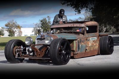 Video: When You Want A Supra But Also Love Rat Rods This Is The Result!