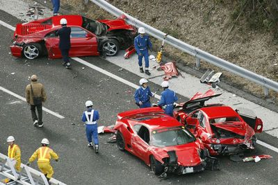 Video: Is This The World's Most Expensive Car Crash?