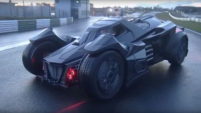 Video: An Ex-koenigsegg Engineer Built This Fully Carbon Fibre 'arkham Knight' Batmobile And It's Insane!