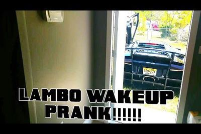 Video: This Lamborghini Murcielago Is The Best Alarm Clock Ever!