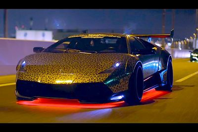 Video: Japan's 'bosozoku' Style Takes Lamborghinis To A Mad New Level!