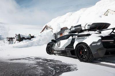 Video: Is Jon Olsson's Lamborghini Murcielago Insane Enough To Conquer A Snowy Mountain?