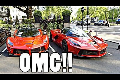 Video: The London Supercar Season Begins. Supercars Everywhere!