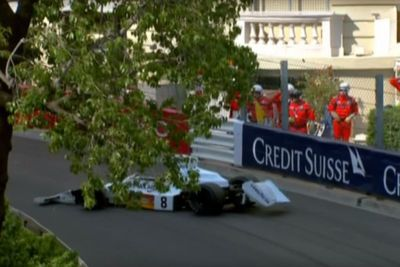 Video: Historic F1 Car Dropped By Crane On Monaco Track, Causes Chaos At Vintage Gp