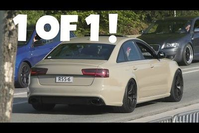 Video: Audi Doesn't Make A New Rs6 Sedan So Someone Created Their Own!