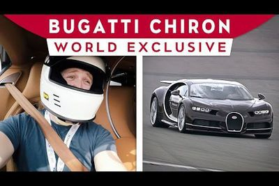 Video: World Exclusive - Bugatti Chiron Passenger Lap On The N`rburgring
