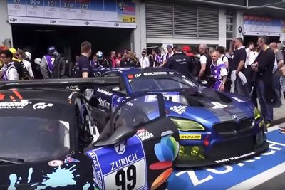 Video: Awesome Behind The Scenes Footage Of The Nurburgring 24 Hour Race.