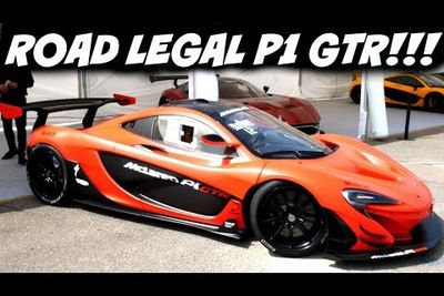 Video: Check Out The Totally Insane First Road Legal Mclaren P1 Gtr!