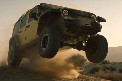 Video: Pro Racer Rhys Millen Tears Up The Desert Landscape!