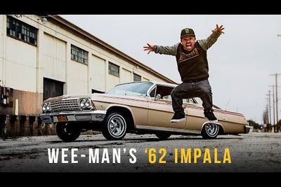 Video: A Day With Wee-man  From Jackass In His '62 Chevy Impala.