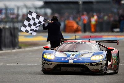 The Ford Gt Completes Its Fairy-tale 50th Anniversary Le Mans Win!