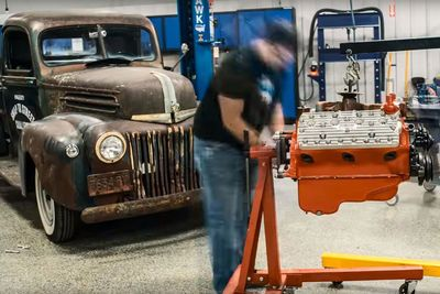 Video: Flathead V-8 Rebuild In An Epic Time Lapse.