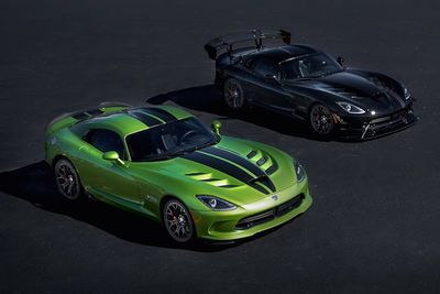 These Dodge Viper Special Editions Are A Bittersweet Sendoff