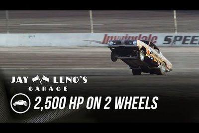 Video: Jay Leno Goes 2,500 Hp On 2 Wheels.