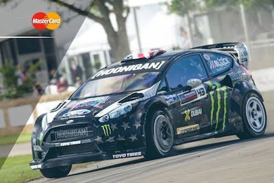 Video: Donut Delivery! 'ken Block Goes All Out Gymkhana At This Years Goodwood 'festival Of Speed'